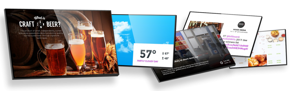 Examples of how Digital Signage is used everywhere